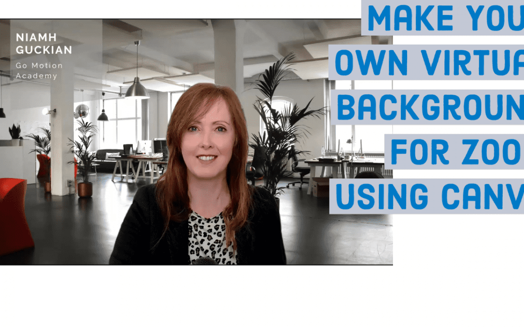 Make Your Own Virtual Background For Zoom Using Canva